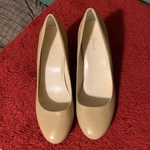 Cole Haan Tan Wedge Shoes